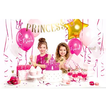 Party box - Princess dekoration, 31 dele