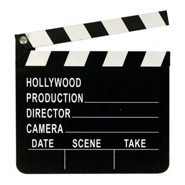 Director's Clapboard Hollywood klaptræ